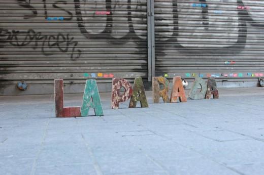 La Parada Llibres en el Mercat de l'Abaceria Central de Barcelona