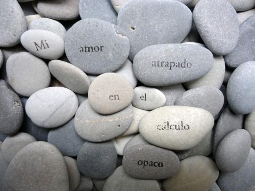Objeto performativo: piedras como potens